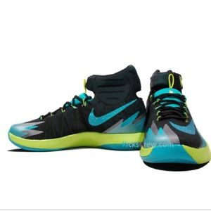 Nike Zoom Black Turbo Green Size 10